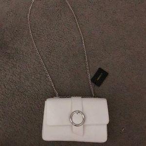 Forever 21 White Shoulder Handbag